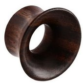 Black Rosewood-Sono Single Flared Tunnel
