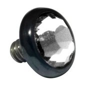 Blackline Internally Threaded Jewel Disc - Clear