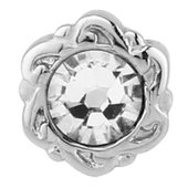 Mother Of Pearl Threaded Jeweled Attachment