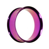 Purple Double Flared Steel Eyelet