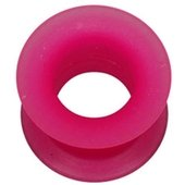 Silicone Flesh Tunnel - Pink
