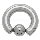 Surgical Steel Captive Bead Ring - 8mm