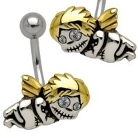 Cute Belly Bar - Zombie Cherub