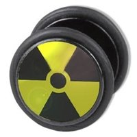 Fake Ear Plug - Radiation