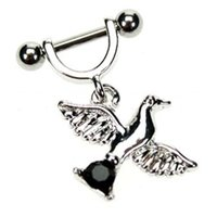 Helix Piercing Shield - Black Dove