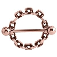 Rose Gold Buckle Nipple Shield