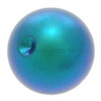 Titanium  Clip-in Ball for Captive Bead Rings - Dark Green