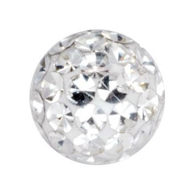 Crystal Cluster Ball - Clear