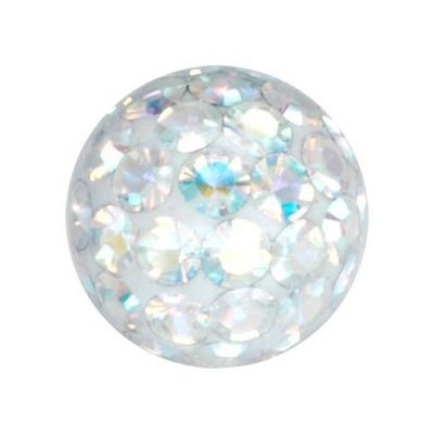 Crystal Cluster Ball - Crystal AB