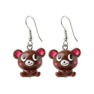 Cute Bear Fashion Earrings