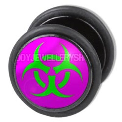 Fake Ear Plug - Cyber Hazard