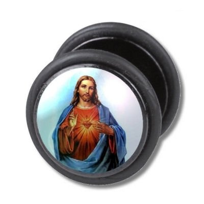 Fake Ear Plug - Jesus
