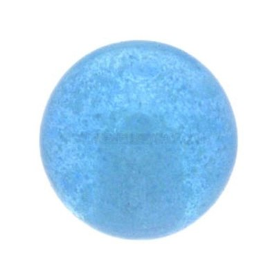 Glow in the Dark Threaded Ball - Blue