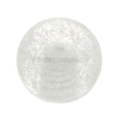 Glow in the Dark Threaded Ball - Clear
