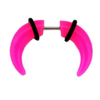 Neon Fake Buffalo Claw - Pink