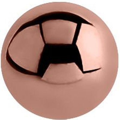 Rose Gold Threaded Micro Ball