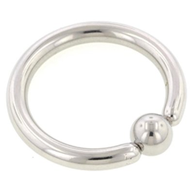 Surgical Steel Captive Bead Ring - 2.4mm
