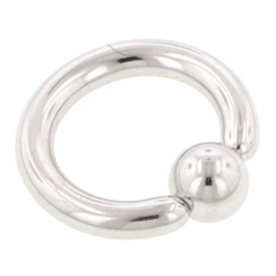 Surgical Steel Captive Bead Ring - 5mm