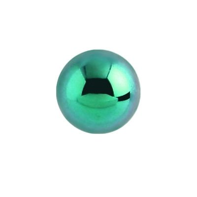Titanium Threaded Ball - Green