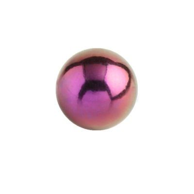 Titanium Threaded Ball - Pink