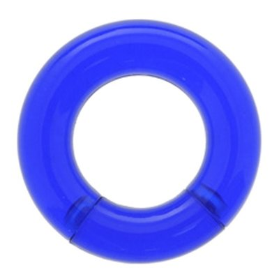 UV Smooth Segment Ring - Blue
